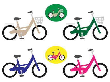 Bicycle / Mamachari (with / without basket)