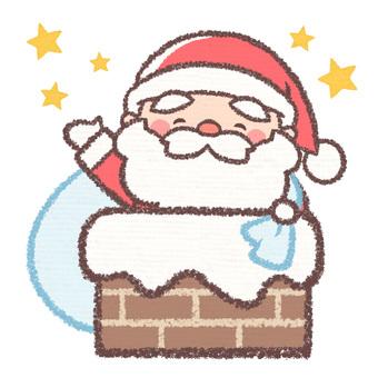 Chimney Santa-no gift