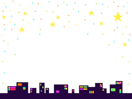 Starry Sky Street (colorful)