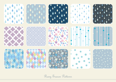 Rainy season pattern