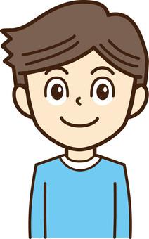 Male person illustration 3