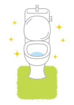 美麗的廁所圖