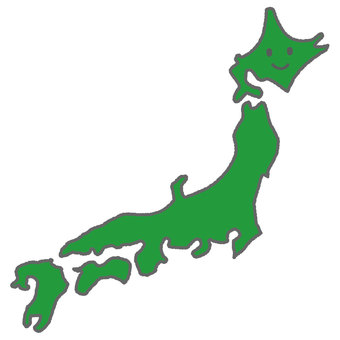 Personified Japanese Islands