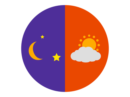 Day and night icons
