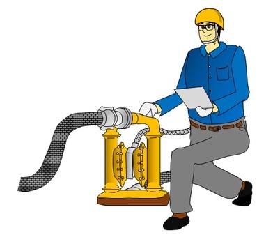 설비의 점검 (월든 펌프)