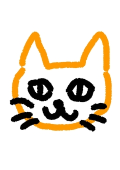 Handwritten cat