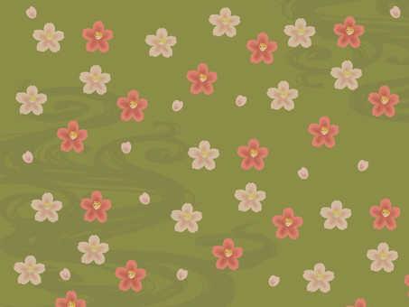 Japanese Pattern Sakura Bronze