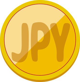 シンプル コイン JPY