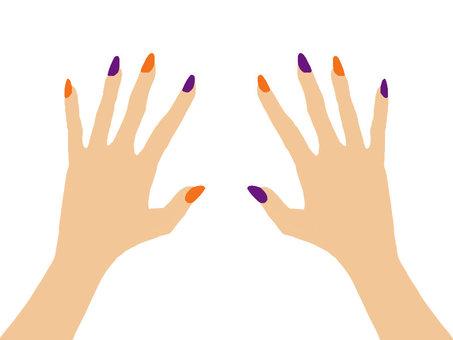Hand nail 1