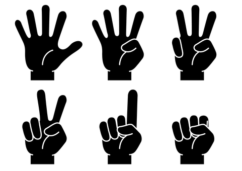 Hand finger icon 19