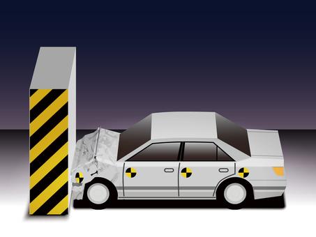 Car crash test -1