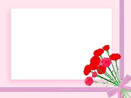 Mother's Day Carnation Frame