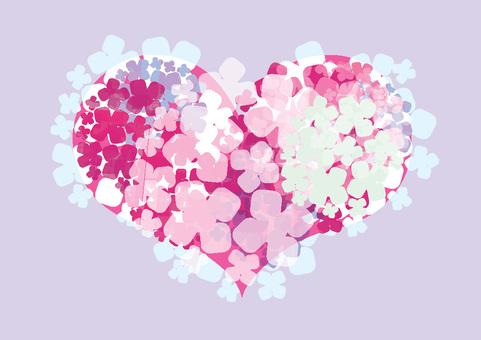 Heart's hydraulic hydrangea