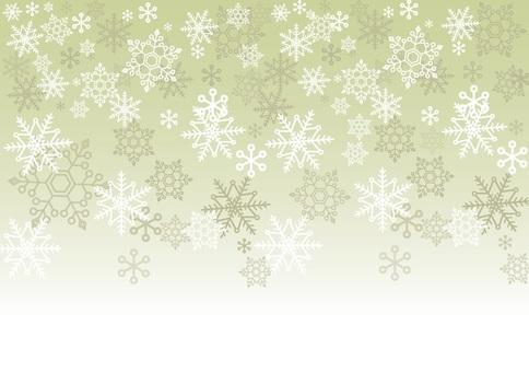 簡單的雪水晶背景綠色