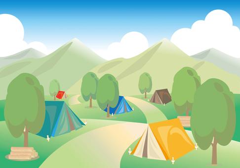 캠프장 A