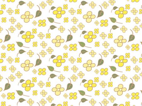黄色い花 パターン