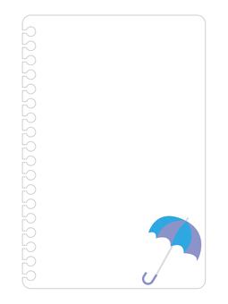 Note White (Umbrella)
