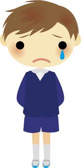 Sorrowful boy
