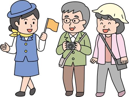 中高年 ガイド付きツアー