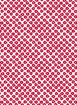 Japanese Pattern Kanoko A <Shinku>