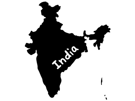 Indian silhouette