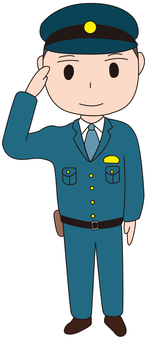 Police officer male