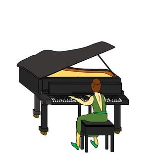 여성 피아니스트