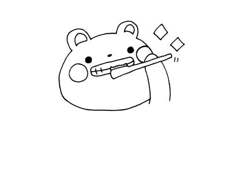 牙膏熊1 1