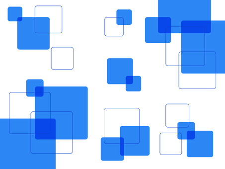 Square Blue Square