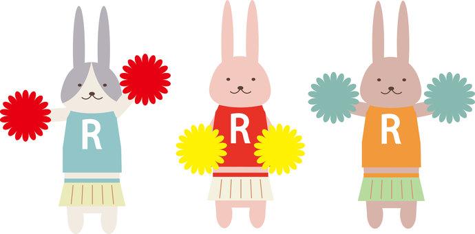 Animal (Cheer Girl, Rabbit, Set)