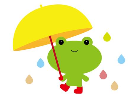 Change of rainy day