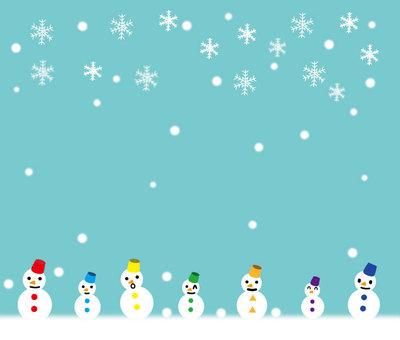 Many Snowmen
