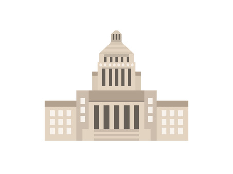 The parliament building icon