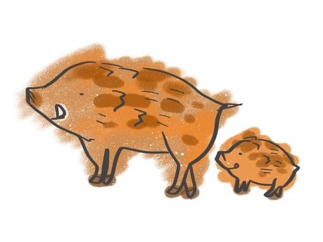 Wild Boar Zodiac Sign