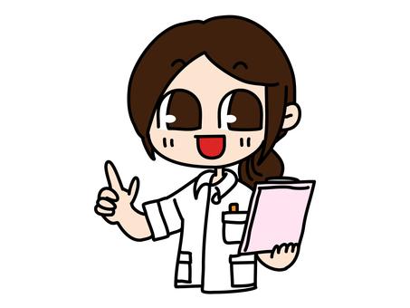 護士女性指導