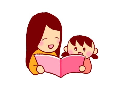 Mom and reading