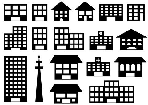 各種建築,黑色