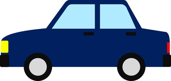Automobile sedan ④