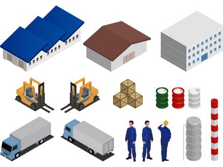 Factory equipment set 3