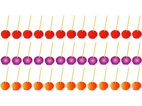 Ringo candy line set 3