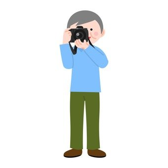 A man facing a camera