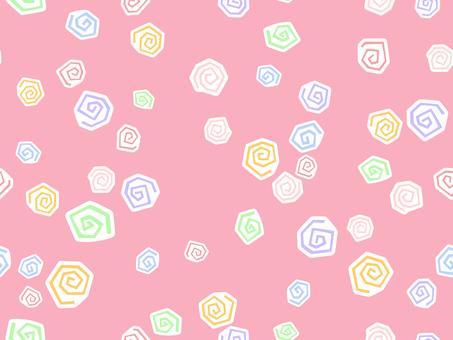 패턴 - 빙글 빙글 1