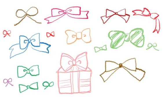 Various ribbons