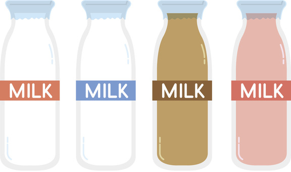 Milk illustrations