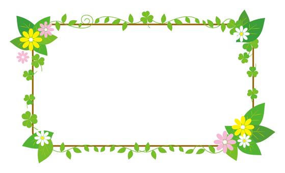 Flower decoration frame part 2