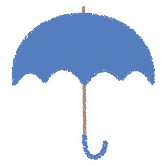 Umbrella _ cyan