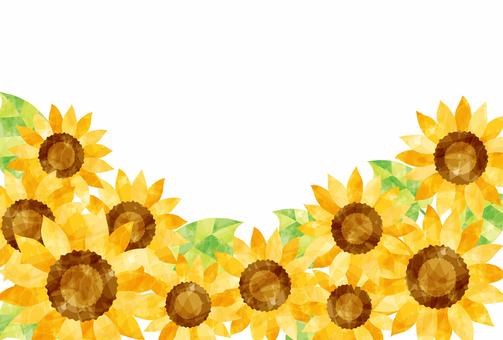 Flower frame / Sunflower
