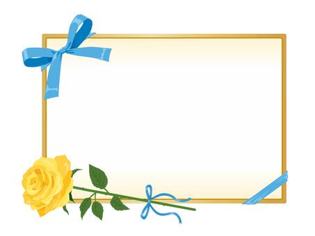 父の日用バラとカード