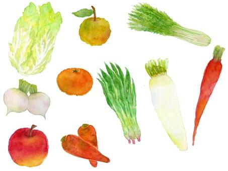 Winter fresh fruit
