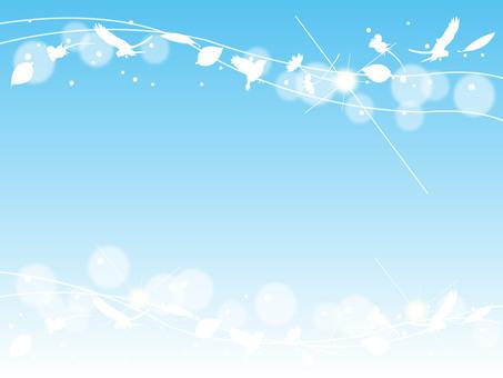 Blue sky frame 2